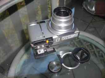 Ricoh Kamera in Kenia defekt