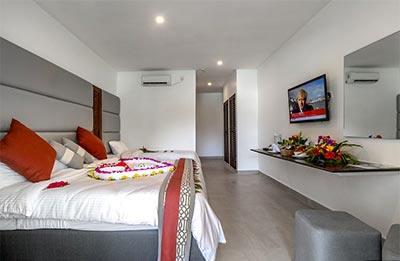 Schlafzimmer - Hotel southern palms 4 sterne diani kenia am Indischer Ozean