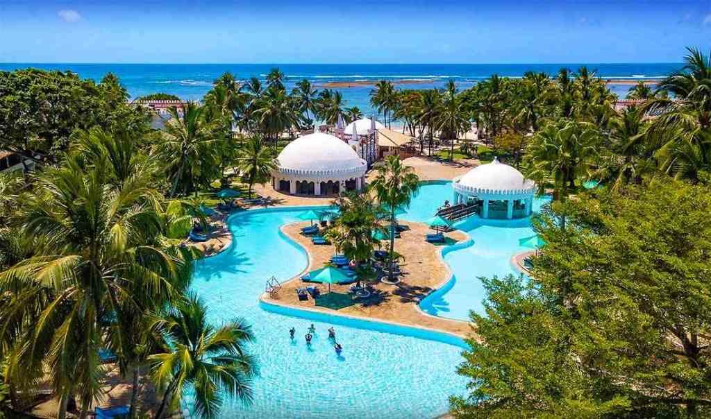 Hotel southern palms 4 sterne diani kenia am Indischer Ozean