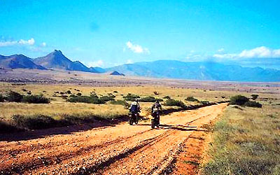 motorrad motorbike safari reise Kenia