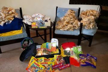 Geschenke Kinderhilfsprojekt