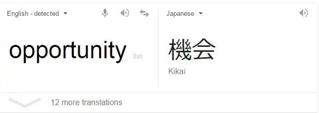 The Opportunity in Japan
