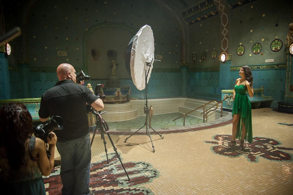 Budapest Masterclass in Gellért Thermal Baths, Budapest