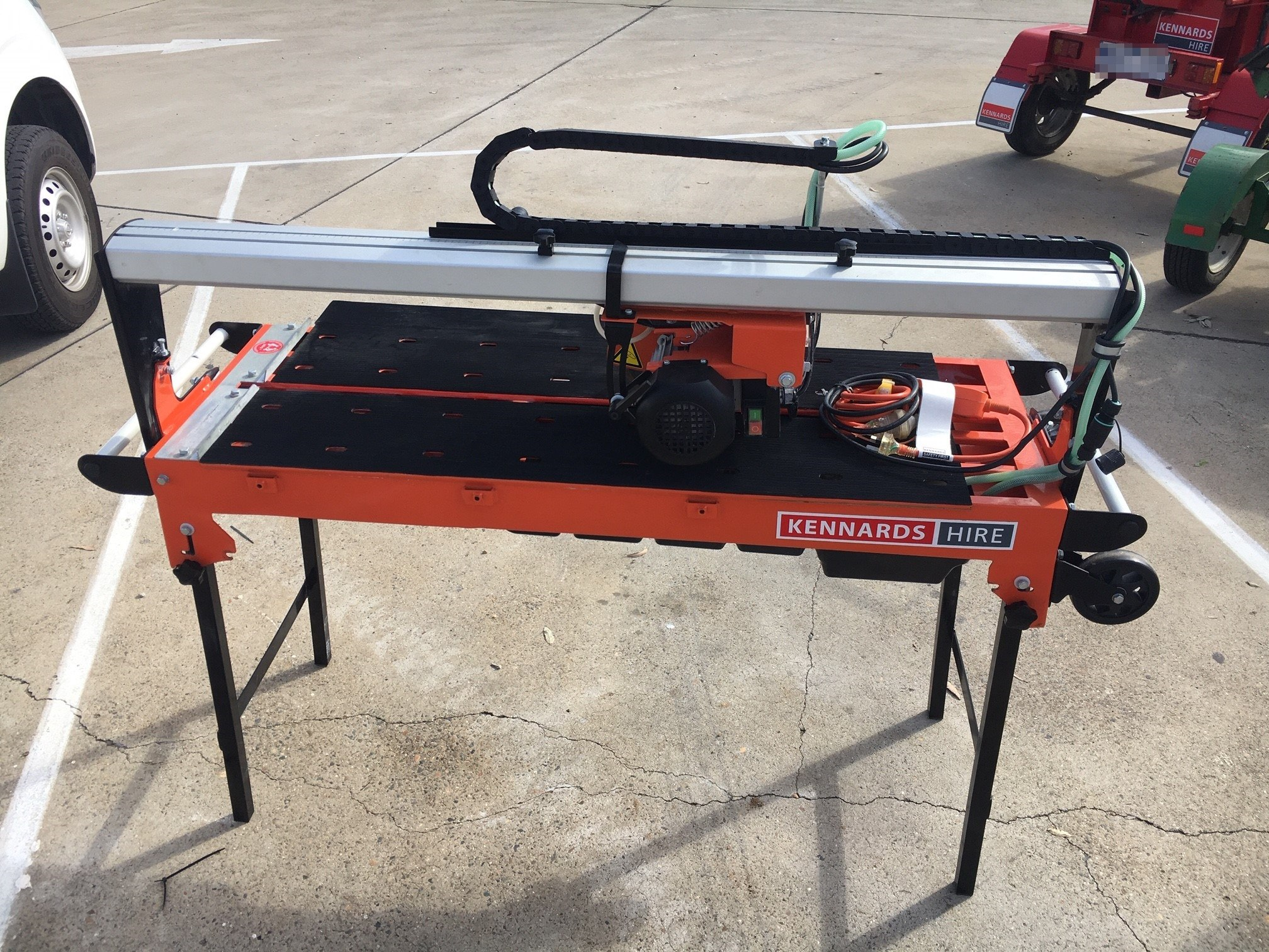 saw tile 950mm electric for rent