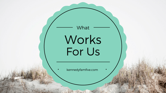 kennedyfamfive's favorites list. what works for us. family resource.