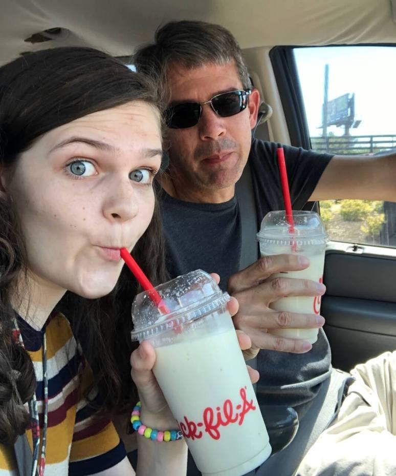 chickfila frozen lemonade, rees carolyn youtube, Rees & Derek