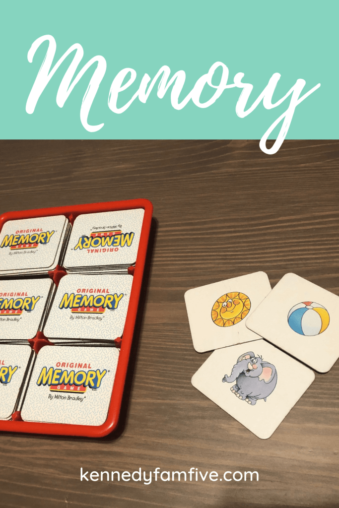 memory game, best game for preschoolers, best games for families