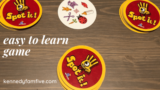 best easy-to-learn game, best games for families, spot it game