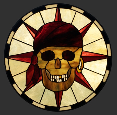 Pirate Skull Pendant PDF