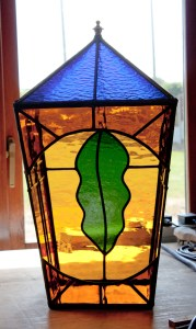 Large Lantern ( oak leaf )