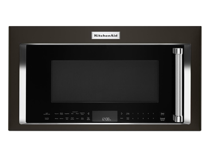 kitchen aid range sink styles kitchenaid ykmhc319ebs 30 1 9 cu ft over the convection mic price match restrictions