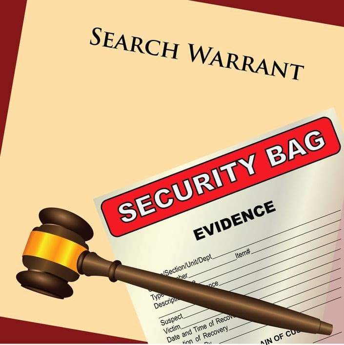 Search Warrant - When the Feds Come Knocking at Your Door