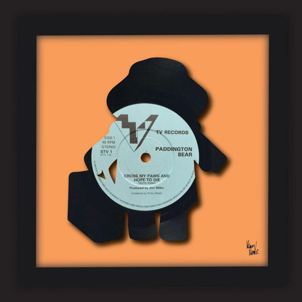 Cross My Paws Paddington Bear 1982 Kenny Deane Vinyl Art