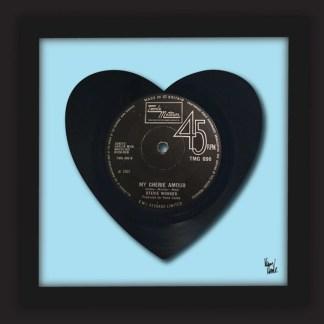Stevie Wonder vinyl art