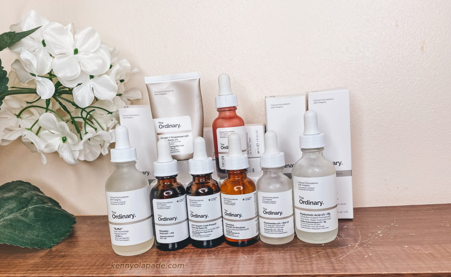 HOW TO CONFIDENTLY LAYER THE ORDINARY SKINCARE PRODUCTS. | Kenny Olapade