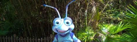 Flik meet and greet at Animal Kingdom in Walt Disney World