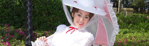 Mary Poppins Epcot meet and greet kennythepirate