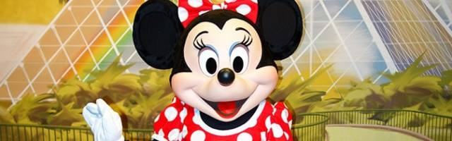 Minnie Mouse Epcot meet and greet