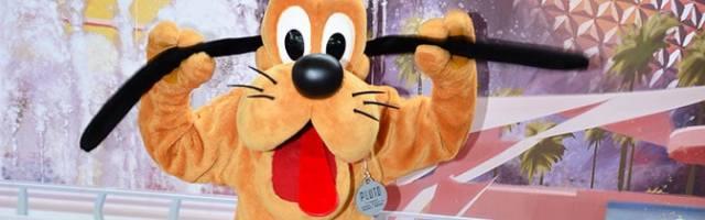 Pluto Epcot meet and greet KennythePirate