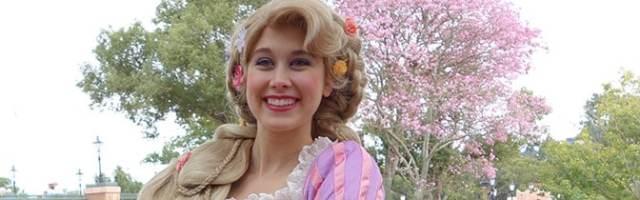 Rapunzel Magic Kingdom meet and greet KennythePirate