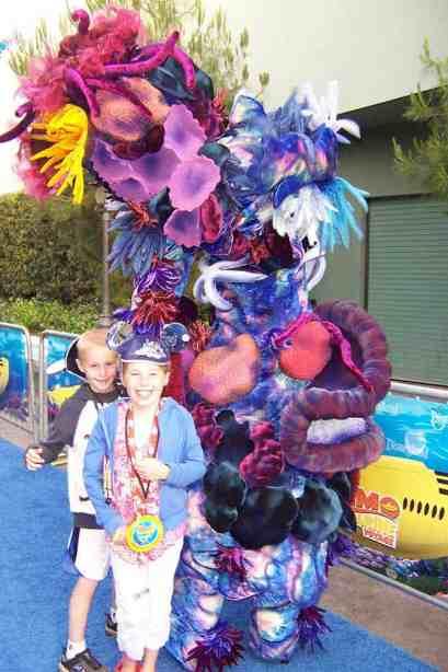 We met Coral in Disneyland 2007