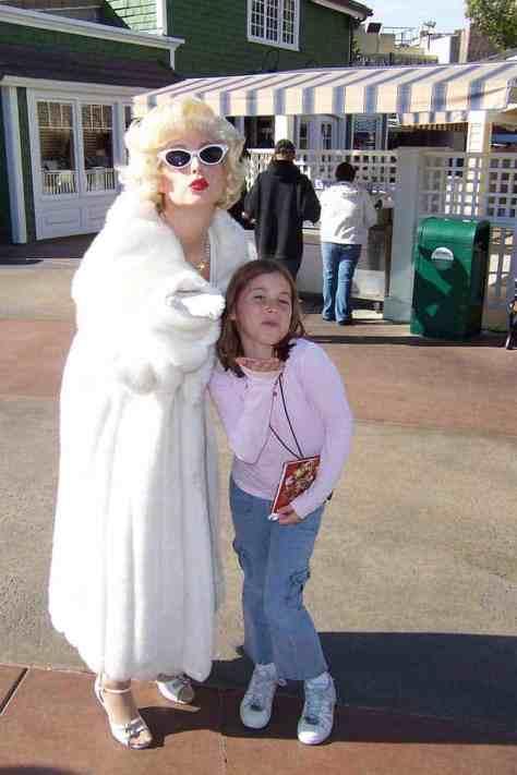 Marilyn Monroe Universal Studios Hollywood 2007