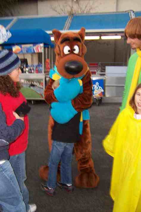 Scooby Universal Studios Hollywood 2007