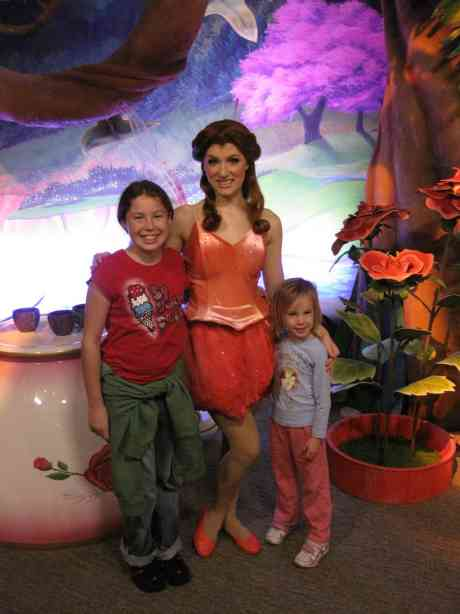Rosetta in Magic Kingdom 2008