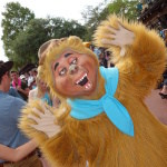 Wendell from the Country Bears at the Frontierland Hoedown Disney World Character meet and greet