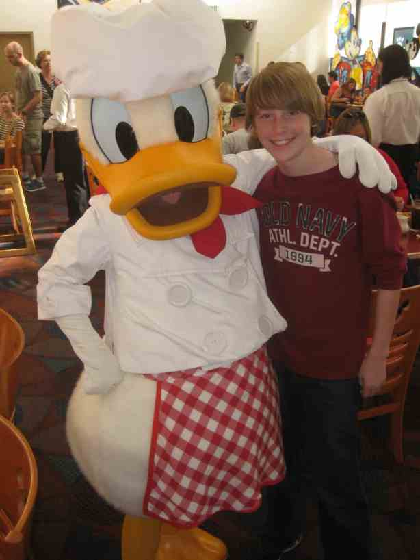 Donald Chef Mickeys 2011 (2)