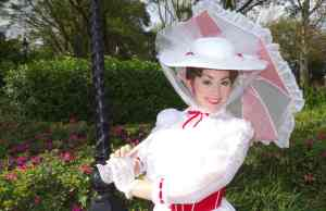 Walt Disney World, Epcot, United Kingdom, Mary Poppins, Meet and Greet