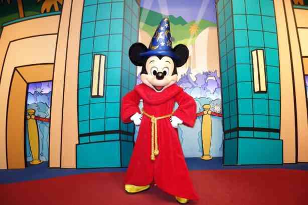 Sorcerer Apprentice Mickey Hollywood Studios 2012