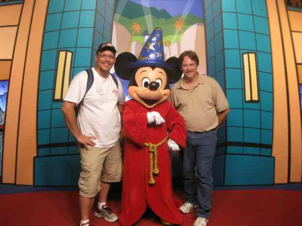 Sorcerer Apprentice Mickey Hollywood Studios 2010