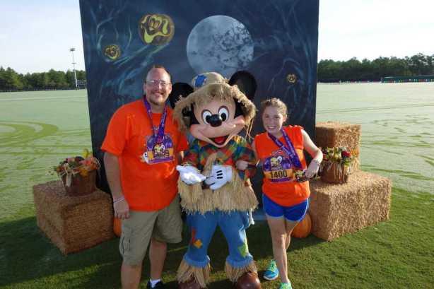 Mickey Scarecrow 5k 2012