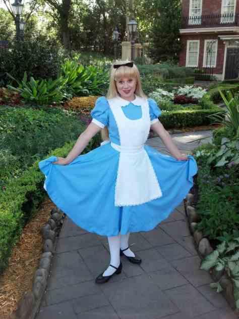 Alice United Kingdom Epcot 2012