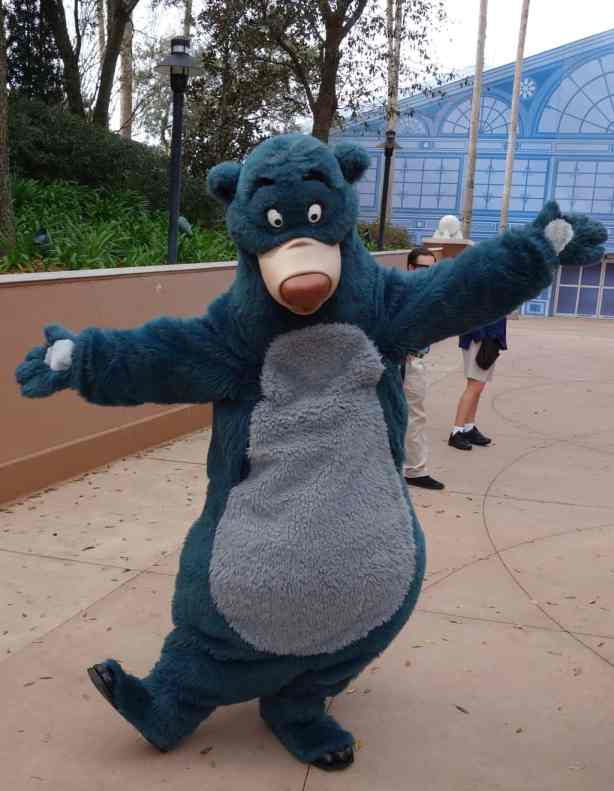 Baloo in Epcot World Showplace 2013