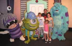 Walt Disney World, Epcot Characters, Pixar Weekend, Boo, Mike Wazowski, Sulley