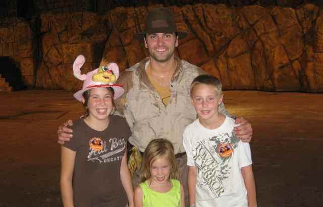 Walt Disney World, Hollywood Studios, Meet Indiana Jones