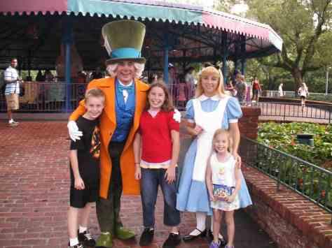 Mad Hatter & Alice 2008