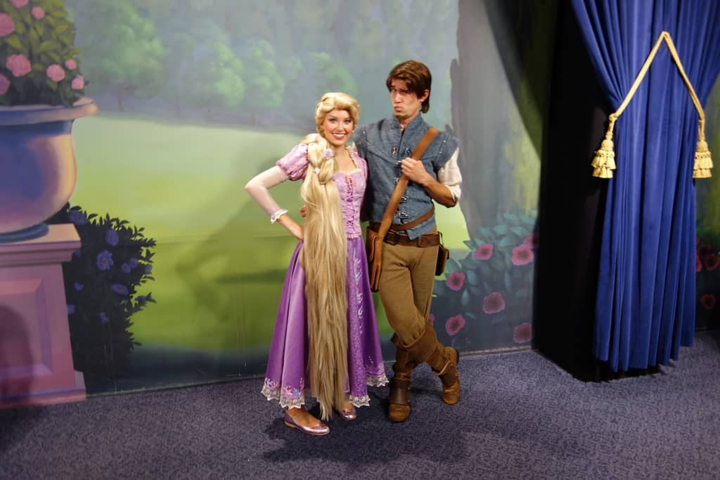 Rapunzel at Town Square Theater in Magic Kingdom - KennythePirate ...
