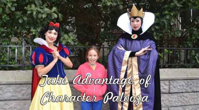 Character Palooza 2020 Schedule