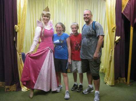 Aurora (Sleeping Beauty)  at Toontown in Magic Kingdom 2010