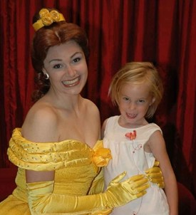 Belle at Toontown in Magic Kingdom 2008