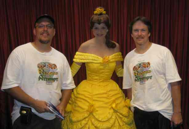 Belle at Toontown in Magic Kingdom 2010