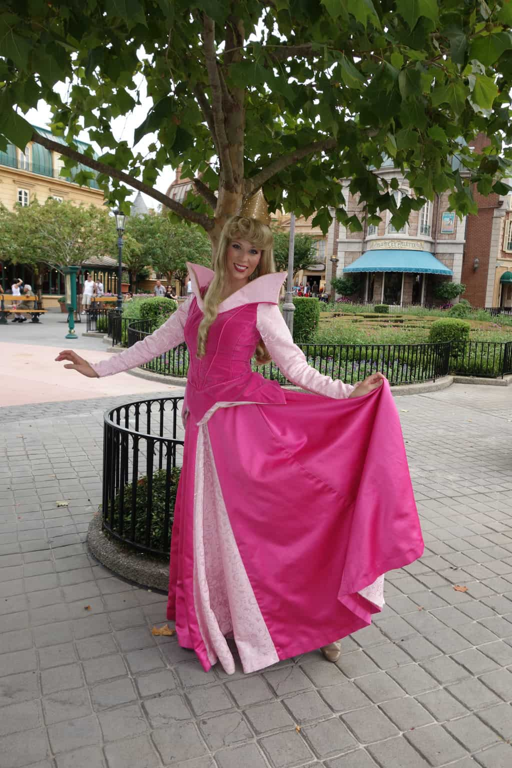 Aurora Sleeping Beauty at France in Epcot