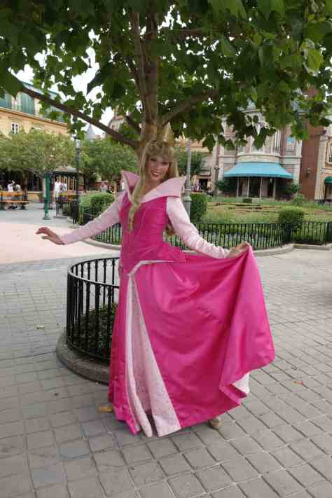 Aurora (Sleeping Beauty)  in France at Epcot 2012