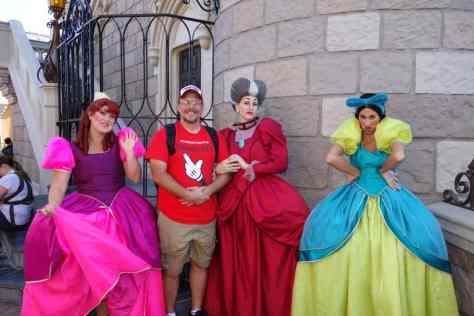 Anastasia, Drizella and Lady Tremaine Magic Kingdom 2012