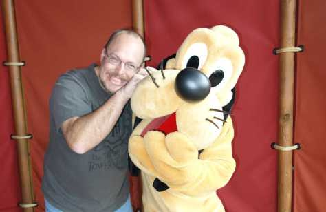Pluto at Magic Kingdom  2013