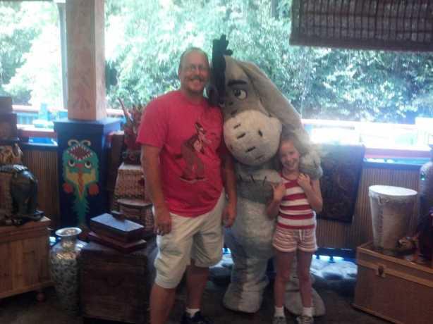 Eeyore Animal Kingdom 2012