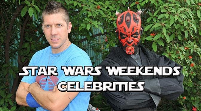 star wars weekends celebrites, star wars weekends guests